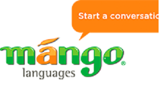 Mango languages logo: Start a conversation